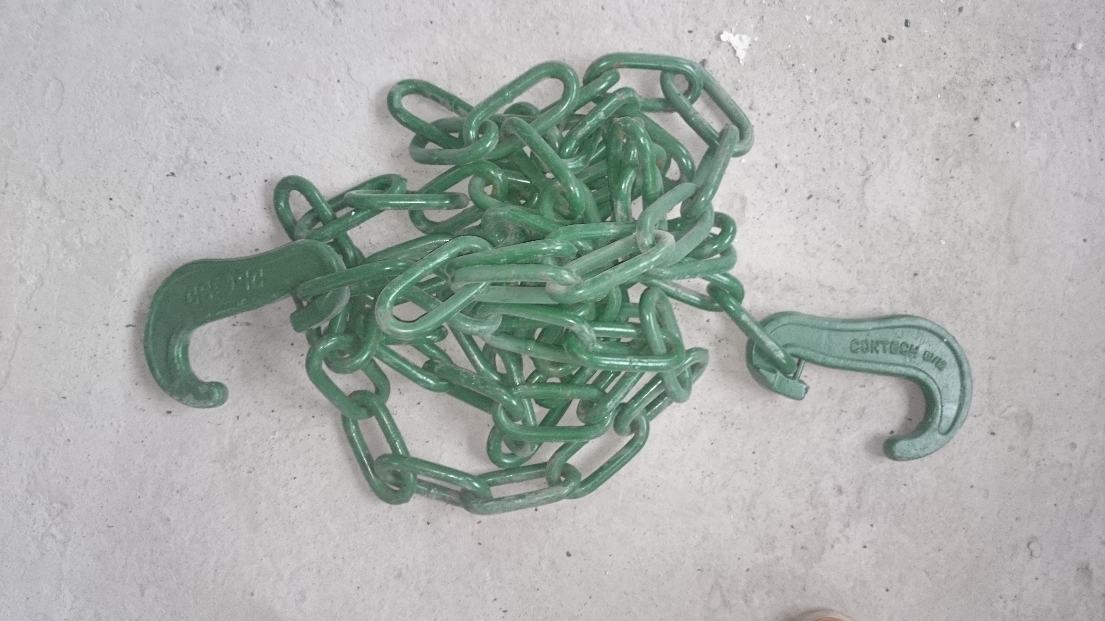 Łańcuchy mocujące i Zaciski linowe